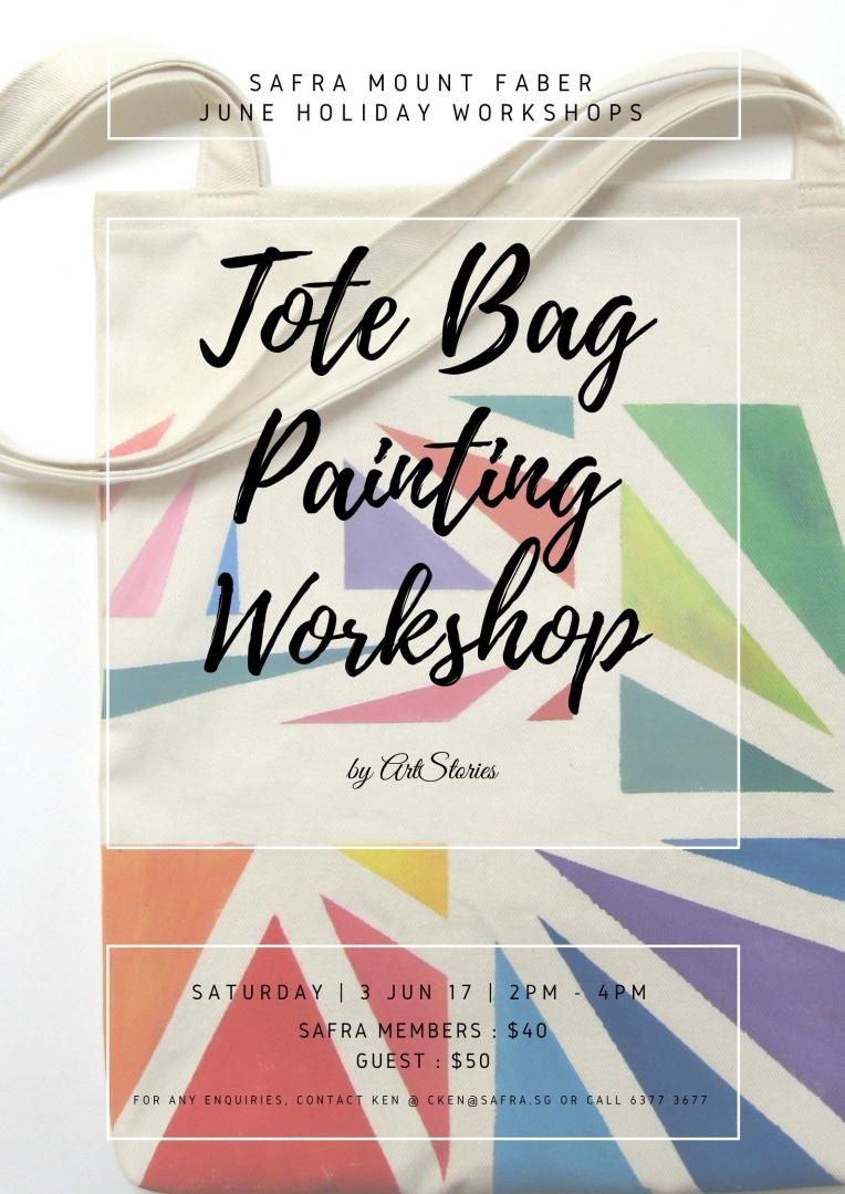 Tote Bag Painting