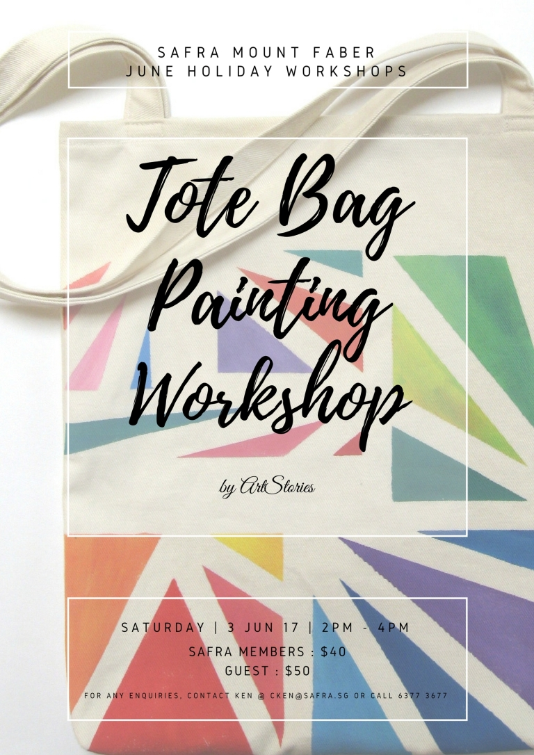 Tote Bag Painting